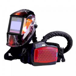 Air Purifying Respirator With Welding Helmet
