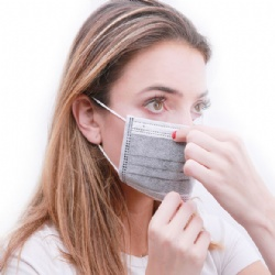 3 ply active carbon dust mask
